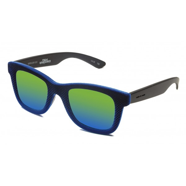 Italia Independent - Velvet 0090V - Gianluca Vacchi - Blue Velvet Multicolor - 009.022 - Sunglasses - Gianluca Vacchi Official