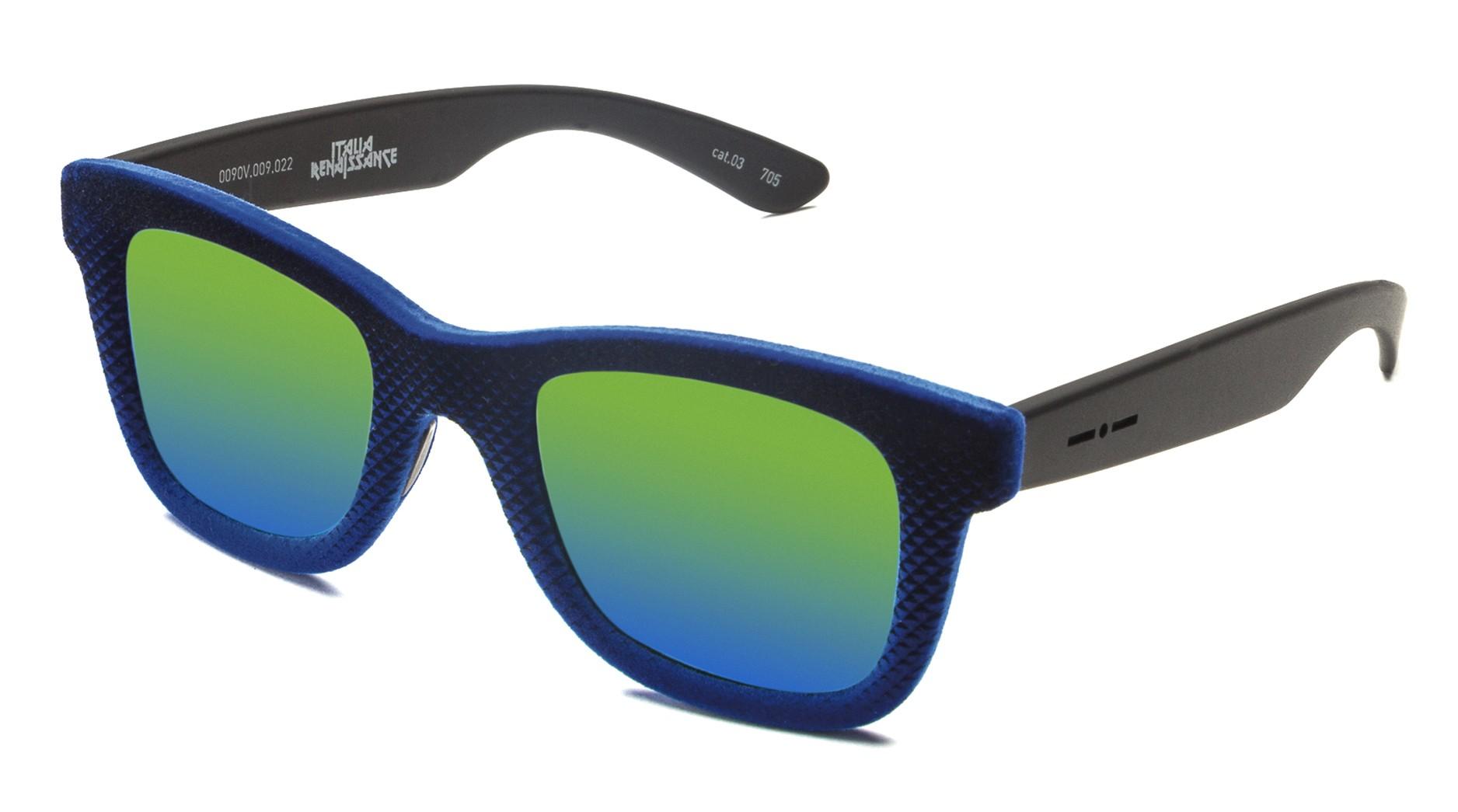 9bd83ad33f Italia Independent - Velvet 0090V - Gianluca Vacchi - Blue Velvet  Multicolor - 009.022 - Sunglasses - Gianluca Vacchi Official - Avvenice