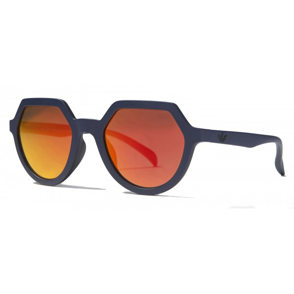 Italia Independent - Adidas AOR018 CI8318 - Adidas Official - Blu Arancione - Occhiali da Sole - Italia Independent Eyewear