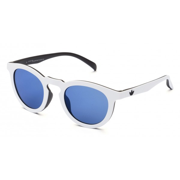 Italia Independent - Adidas AOR017 CK4834 - Adidas Official - White Blue - Sunglasses - Italia Independent Eyewear
