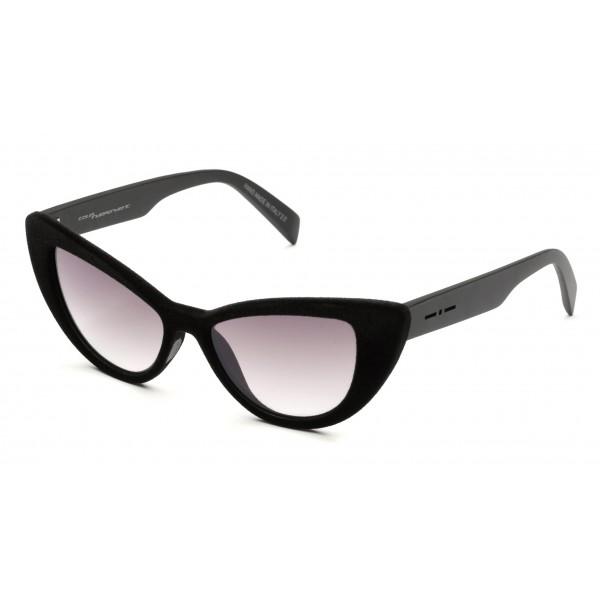 Italia Independent - I-I Mod Marlon 0906 Velvet - Nero Marrone - 0906V.009.CSM - Occhiali da Sole - Italia Independent Eyewear