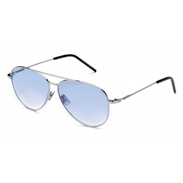 Italia Independent - I-I Mod Forrest 0310 Superthin - Argento Blu - 0310.075.GLS - Occhiali da Sole - Italia Independent Eyewear