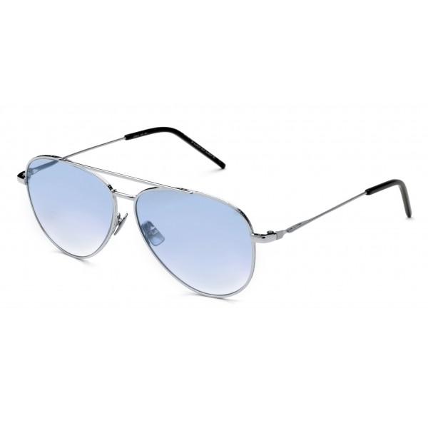 Italia Independent - I-I Mod Forrest 0310 Superthin - Silver Blue - 0310.075.GLS - Sunglasses - Italy Independent Eyewear