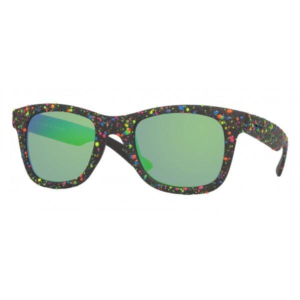 Italia Independent - I-Plastik 0090DP Drops - Nero Verde - 0090DP.009.149 - Occhiali da Sole - Italia Independent Eyewear