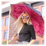 Pasotti Ombrelli 1956 - 189 21065-30 K9 - Flamingo Umbrella - Luxury Artisan High Quality Umbrella