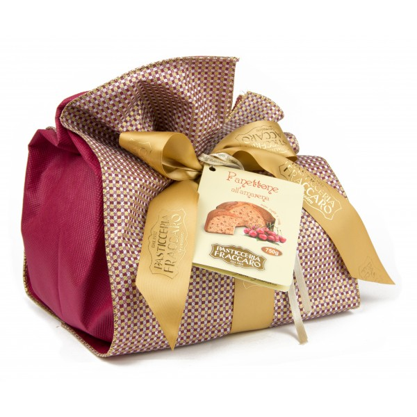 Pasticceria Fraccaro - Elegance Line - Panettone with Candied Black Cherry - Artisan Panettone - Fraccaro Spumadoro