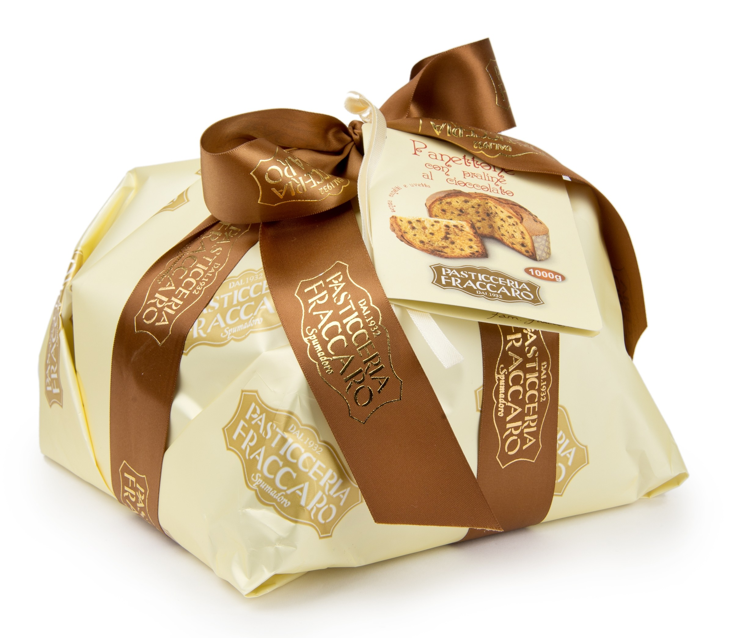 Pasticceria Fraccaro - Hand Wrapping Line - Panettone with ...