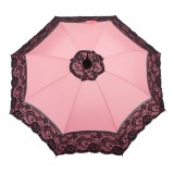Pasotti Ombrelli 1956 - 352NE SUM-3 D1 - Burlesque Parasol with Manual Opening - Luxury Artisan High Quality Umbrella