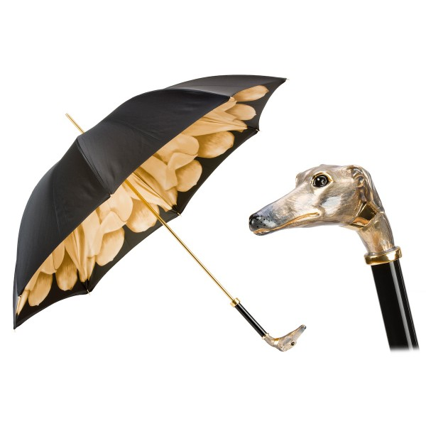 Pasotti Ombrelli 1956 - 189 21065-51 K63 - Woman Greyhound Umbrella - Luxury Artisan High Quality Umbrella