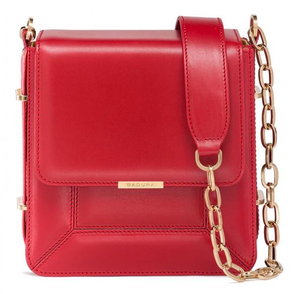 1185c2c9186f Aleksandra Badura - Candy Bag - Calfskin Shoulder Bag - Red - Luxury High  Quality Leather
