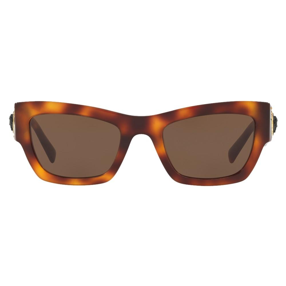 2b9eaa7f4ec ... Versace - Sunglasses Medusa Ares Stud - Havana - Sunglasses - Versace  Eyewear ...