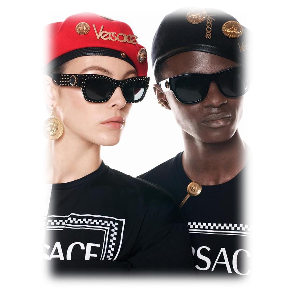 bde6408c1af6a ... Versace - Sunglasses Medusa Ares Stud - Havana - Sunglasses - Versace  Eyewear
