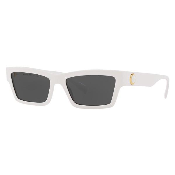 Versace - Occhiale da Sole Cat Eye Medusa Ares Stud - Bianco Onul - Occhiali da Sole - Versace Eyewear