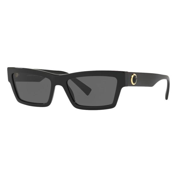 Versace - Occhiale da Sole Cat Eye Medusa Ares Stud - Nero Onul - Occhiali da Sole - Versace Eyewear