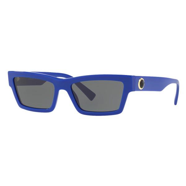 Versace - Occhiale da Sole Cat Eye Medusa Ares Stud - Blu Onul - Occhiali da Sole - Versace Eyewear