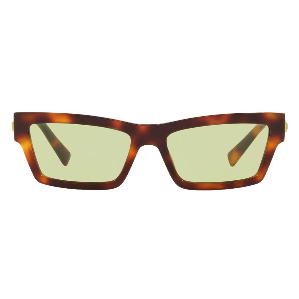 750291242ca ... Versace - Sunglasses Cat Eye Medusa Ares Stud - Havana Onul - Sunglasses  - Versace Eyewear ...