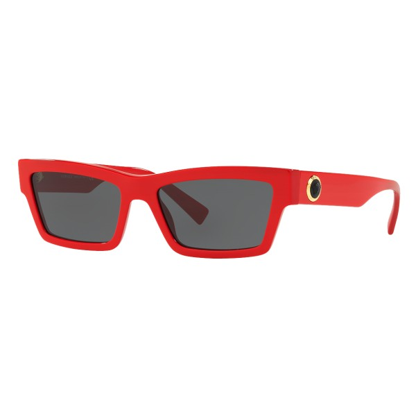 Versace - Occhiale da Sole Cat Eye Medusa Ares Stud - Rosso Onul - Occhiali da Sole - Versace Eyewear