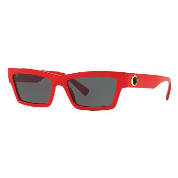 851d1b57ec Versace - Sunglasses Cat Eye Medusa Ares Stud - Red Onul - Sunglasses - Versace  Eyewear - Avvenice