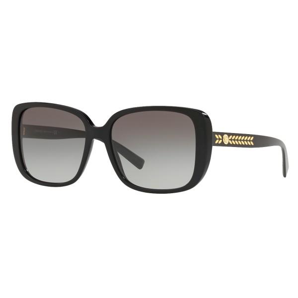 Versace - Occhiale da Sole Quadrati Medusa Leaves - Nero Onul - Occhiali da Sole - Versace Eyewear
