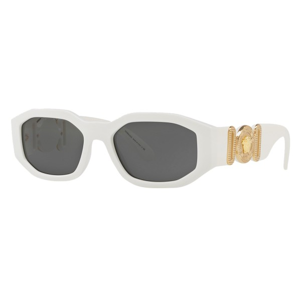 "Versace - Occhiale da Sole Medusa ""Biggie"" - Bianco Onul - Occhiali da Sole - Versace Eyewear"