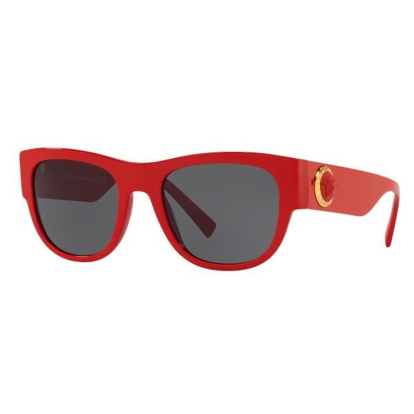 Versace - Occhiale da Sole Medusa Ares - Rosso Onul - Occhiali da Sole - Versace Eyewear