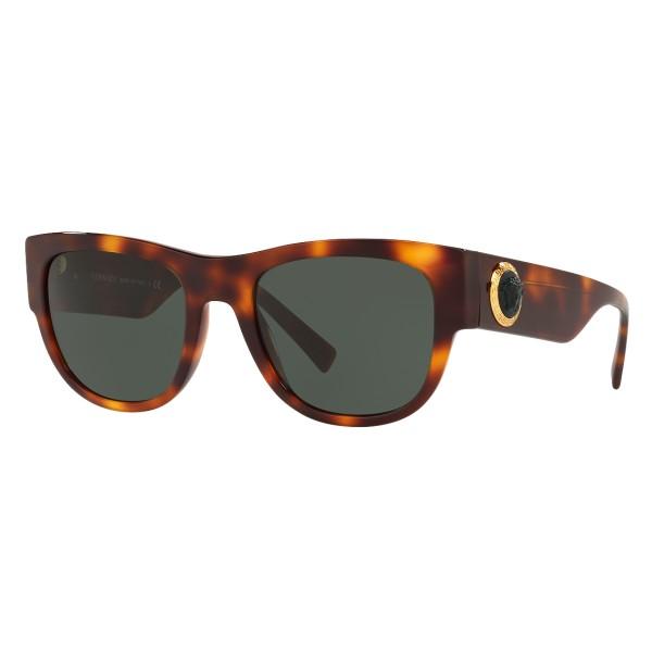 Versace - Occhiale da Sole Medusa Ares - Havana Onul - Occhiali da Sole - Versace Eyewear