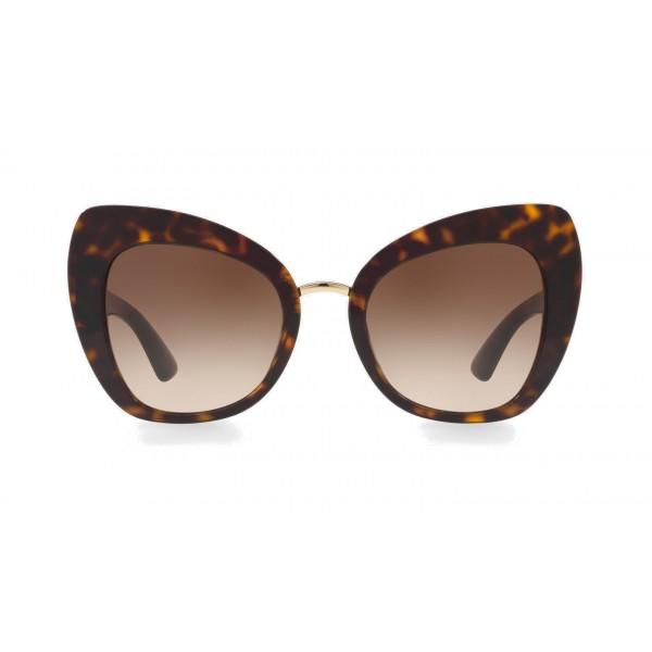 d9696c73b2b6 Dolce   Gabbana - Butterfly Sunglasses in Acetate - Havana - Dolce   Gabbana  Eyewear