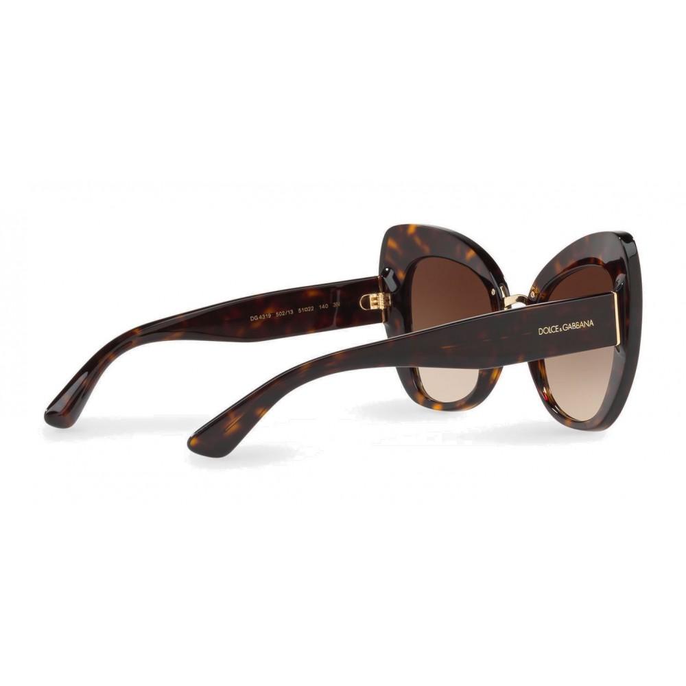 2363c697fac ... Dolce   Gabbana - Butterfly Sunglasses in Acetate - Havana - Dolce   Gabbana  Eyewear ...