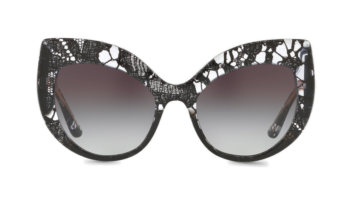 b23c891fdb Dolce   Gabbana - Cat-Eye Sunglasses in Acetate Lace - Gradient Black Lace  - Dolce   Gabbana Eyewear