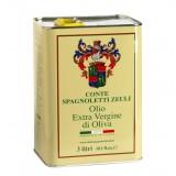 Conte Spagnoletti Zeuli - Olio Extravergine di Oliva D.O.P. - 3 l - Fruttato Intenso