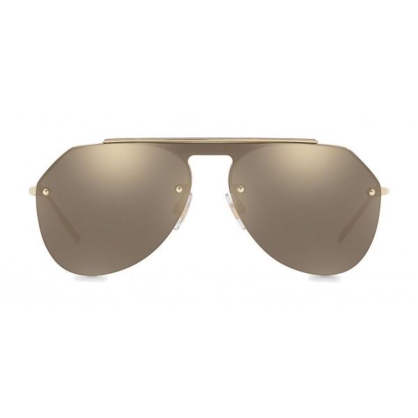 5d9220526678 Dolce   Gabbana - Pilot Sunglasses in Metal - Shiny Gold - Dolce   Gabbana  Eyewear - Avvenice