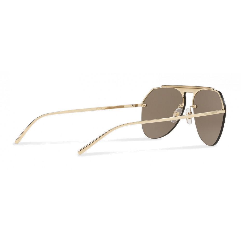 6d2993e196e9 ... Dolce   Gabbana - Pilot Sunglasses in Metal - Shiny Gold - Dolce   Gabbana  Eyewear ...