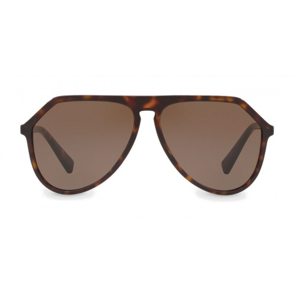 73b9302ea47 Dolce   Gabbana - Pilot Acetate Sunglasses with Key Bridge - Havana - Dolce    Gabbana
