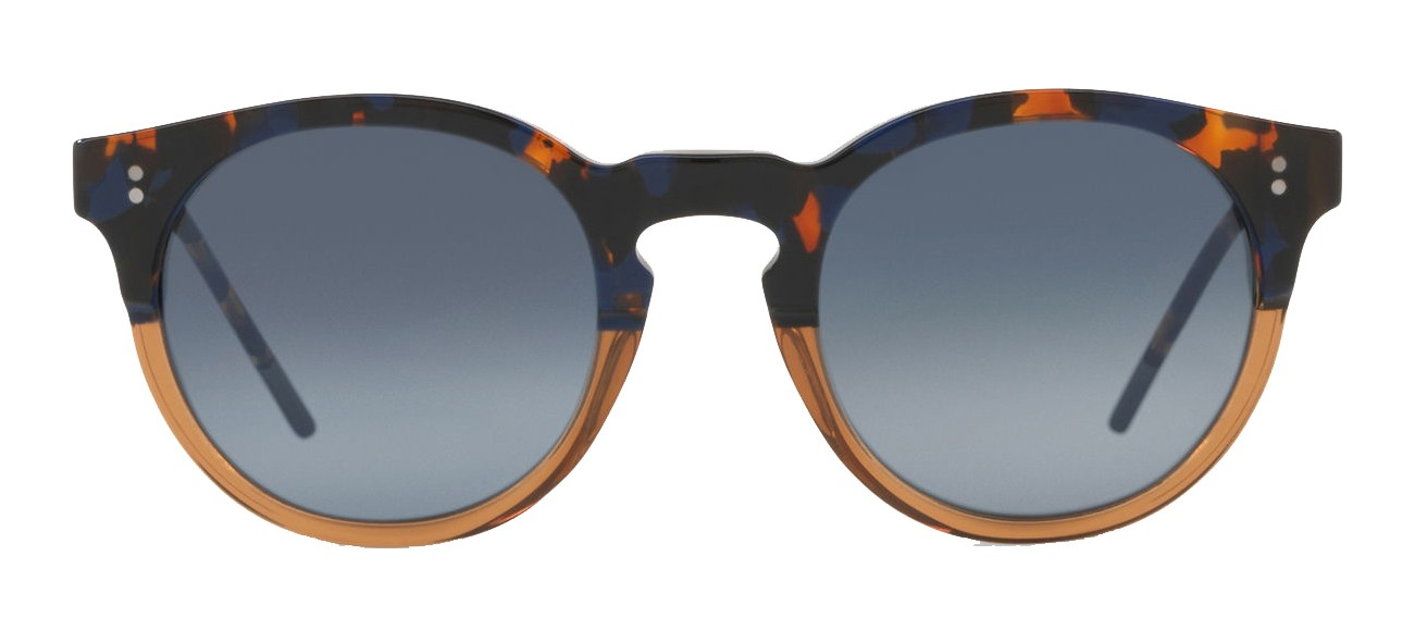 162d472a22e Dolce   Gabbana - Panthos Sunglasses with Keyhole Bridge - Blue Havana and  Brown - Dolce   Gabbana Eyewear - Avvenice