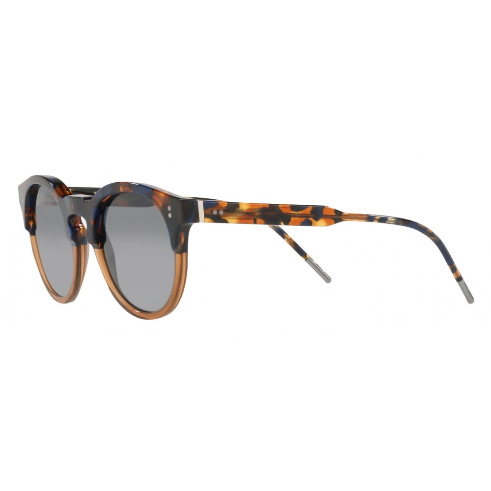 1c4a9c576eb ... Dolce   Gabbana - Panthos Sunglasses with Keyhole Bridge - Blue Havana  and Brown - Dolce ...