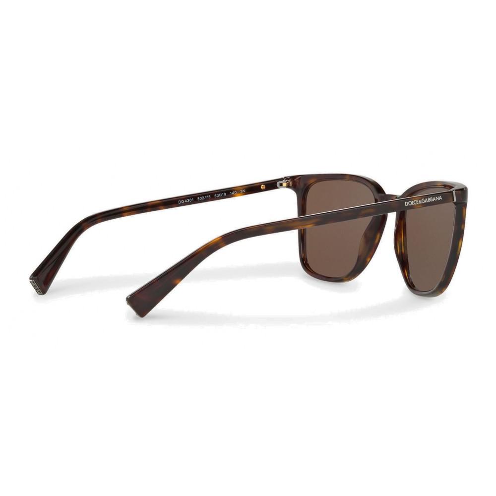 f8cb80370437 ... Dolce   Gabbana - Square Sunglasses in Acetate - Havana - Dolce   Gabbana  Eyewear ...