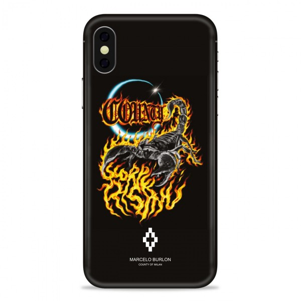 Marcelo Burlon - Scorpio Cover - iPhone X - Apple - County of Milan - Printed Case