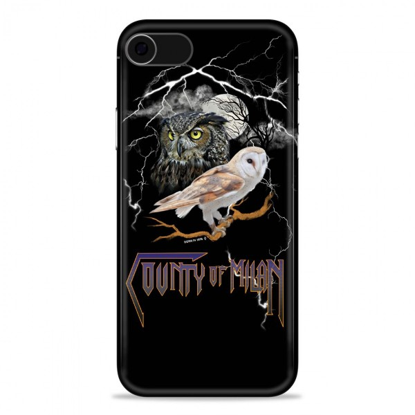Marcelo Burlon - Cover Owl - iPhone X - Apple - County of Milan - Cover Stampata