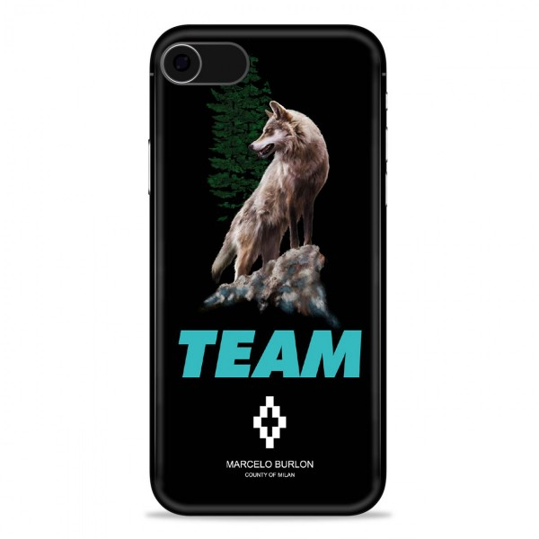 Marcelo Burlon - Cover Team Wolf - iPhone 8 / 7  - Apple - County of Milan - Cover Stampata