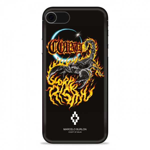 Marcelo Burlon - Scorpio Cover - iPhone 8 / 7 - Apple - County of Milan - Printed Case