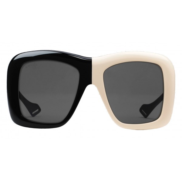 Gucci - Occhiale da Sole Quadrati Oversize - Bicolore - Gucci Eyewear