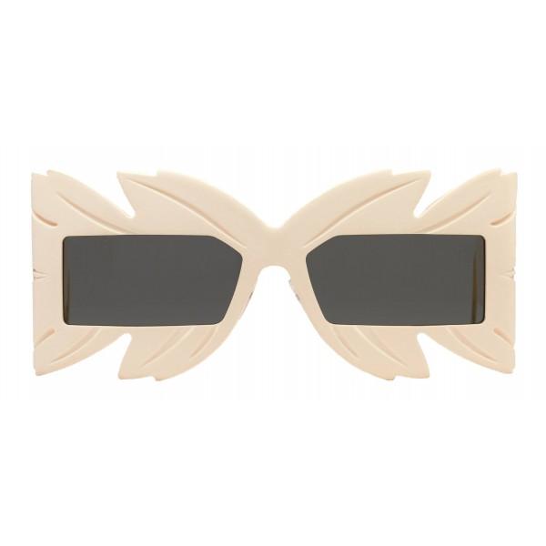 Gucci - Occhiale da Sole a Mascherina con Cristalli Swarovski in Edizione Limitata - Bianchi - Gucci Eyewear