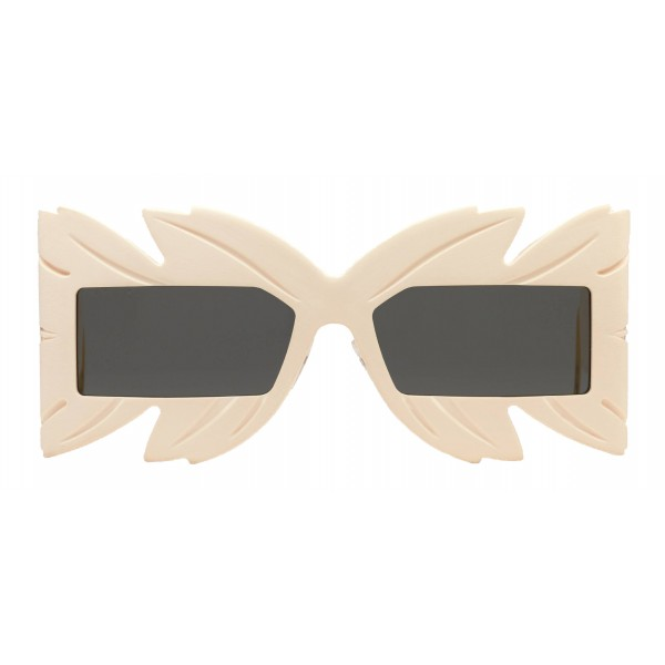 Gucci - Sunglasses with Mask with Swarovski Crystals Limited Edition - White - Gucci Eyewear