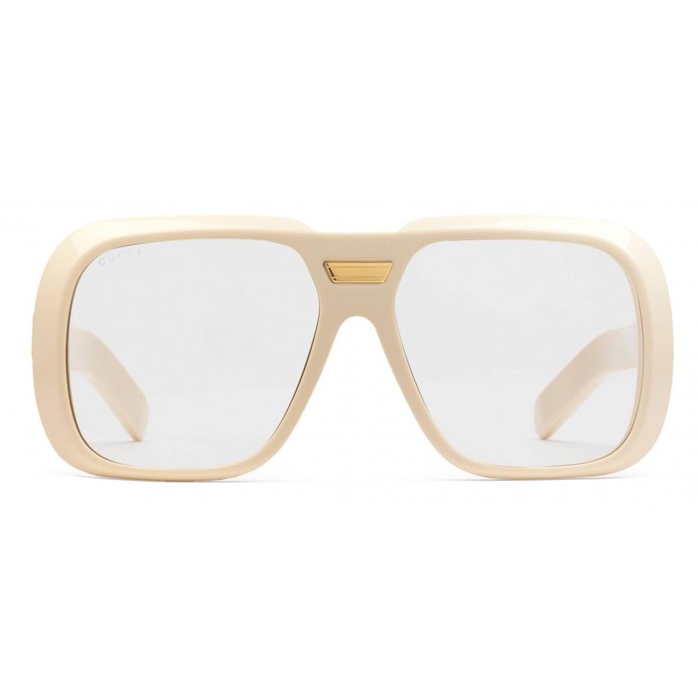 bf13b62b6c7 Gucci - Sunglasses Gucci-Dapper Dan - White - Gucci Eyewear - Avvenice