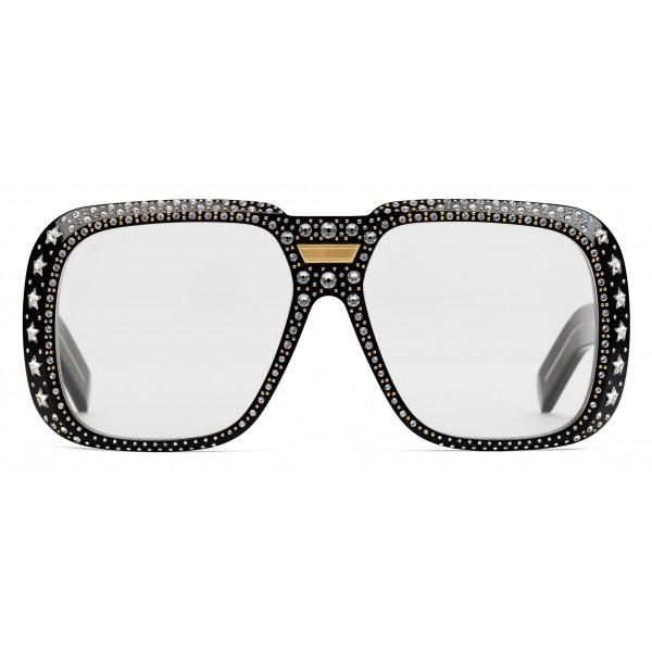 bf20e9f7886 Gucci - Sunglasses Gucci-Dapper Dan - Black with Crystals - Gucci Eyewear  Expand view. Previous