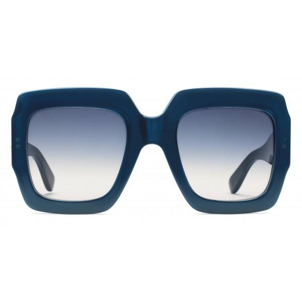 Gucci - Occhiale da Sole Quadrati - Blu - Gucci Eyewear