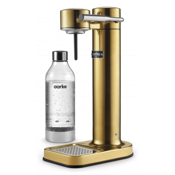 Aarke - Carbonator 3 - Aarke Sparkling Water Maker - Brass - Smart Home - Sparkling Water Maker