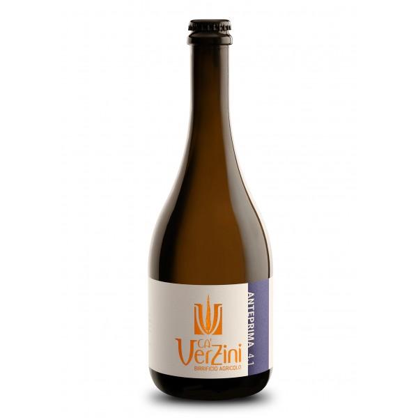 Ca' Verzini - Birrificio Agricolo - Anteprima 4 Brown Ale - Birra Speciale - Birra Artigianale Italiana Alta Qualità - 750 ml