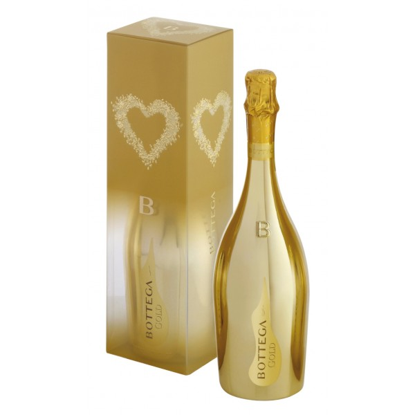 Bottega - Gold - Prosecco D.O.C. Spumante Brut - Astuccio - Gold Edition - Luxury Limited Edition Prosecco