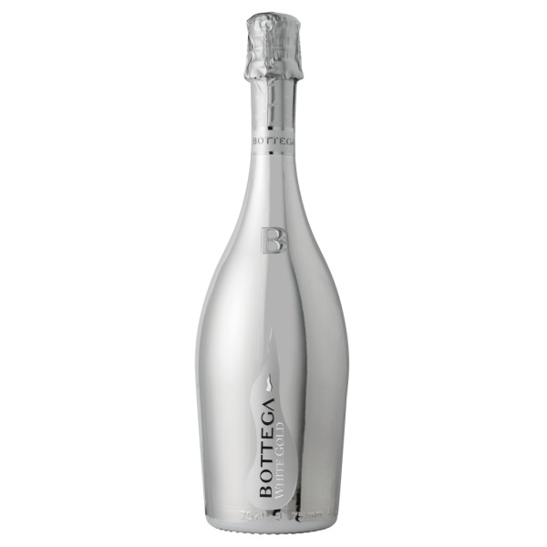 Bottega - White Gold - Spumante Venezia D.O.C. Brut - White Gold Edition - Luxury Limited Edition Prosecco